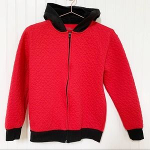 Disney Mickey Boys Embroidered Zip Up Hoodie